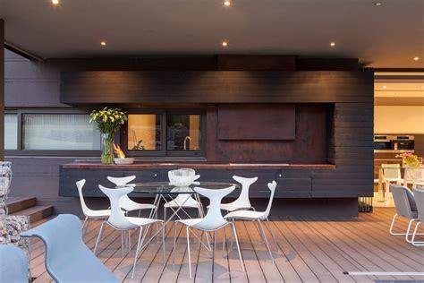 style cuisine villa contemporaine cuisine exterieure