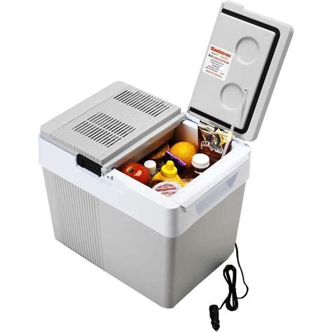 chest cooler 33 qt thermoelectric car cooler heater 12 volt electric