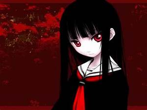 Post a pic of a girl with Black hair and Red eyes! - Anime ...