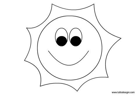 Sole: disegno da colorare TuttoDisegni com