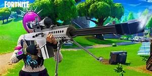39Fortnite39 Leaked Heavy Sniper Rifle Will Change