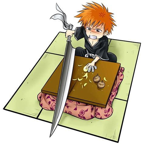 les jeux de fille et de cuisine stickers déco parodie de ichigo de couteau