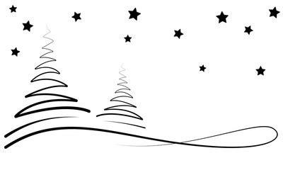 Bilder Weihnachten Schwarz Weiß by Bilder Und Suchen Vektorisiert