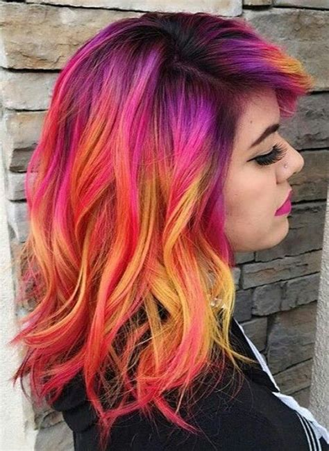 200 Crazy Colorful Hair Coloring Ideas For Long Hair That