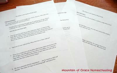 The Indian In The Cupboard Chapter Summaries by Mountain Of Grace Homeschooling Tos Review Indian In The