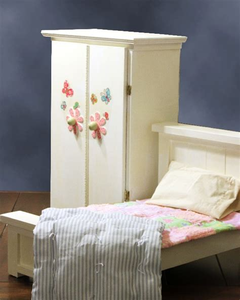 ana white doll bed  wardrobe diy projects