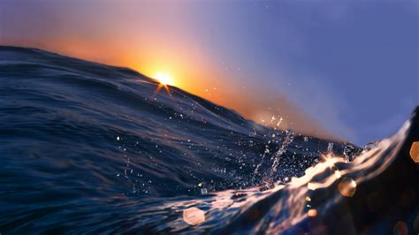 wallpaper sea   wallpaper  ocean water sunset