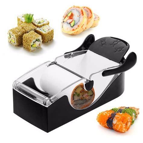 roller cuisine máquina manual para enrolar fazer sushi top roll