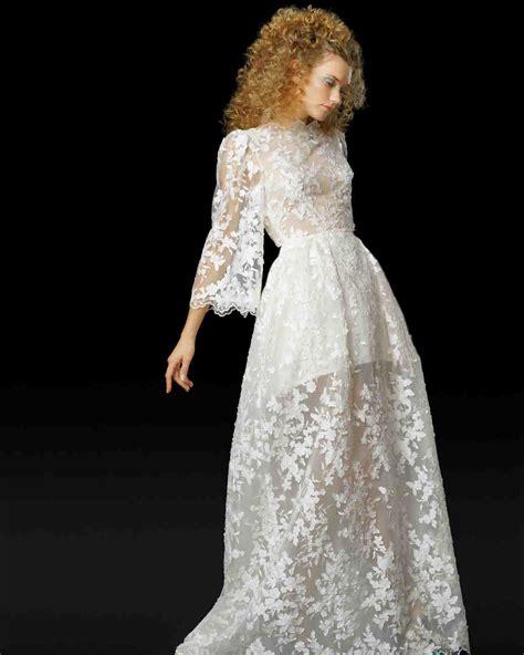 Ultra Romantic Floral Wedding Dresses Martha Stewart