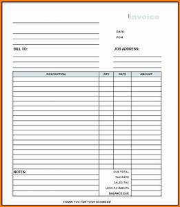 Contractor invoice template free sanjonmotel for Free invoice template contractor receipt template