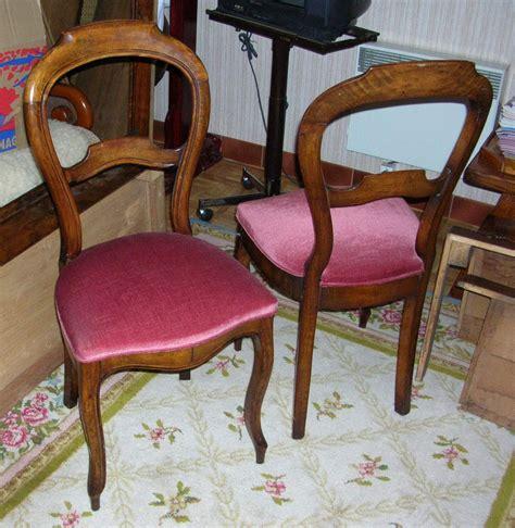 chaises louis philippe chaises style louis philippe avant après anjoudeco