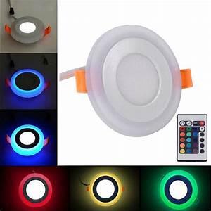 Led Deckenlampe Rund : dimmbar rund led einbau panel deckenlampe deckenleuchte leuchte spot strahler 9 ~ Whattoseeinmadrid.com Haus und Dekorationen