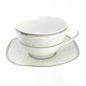 Tasse Petit Déjeuner : tasse assiette tasse petit d jeuner 400 ml avec soucoupe ~ Teatrodelosmanantiales.com Idées de Décoration
