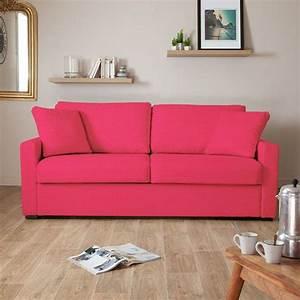 petit canape 2 places convertible les meilleurs modeles With canape lit rose