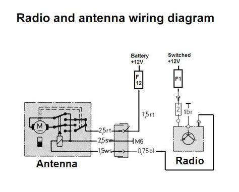 Power Antenna Trigger Wire Mercedes Benz Forum
