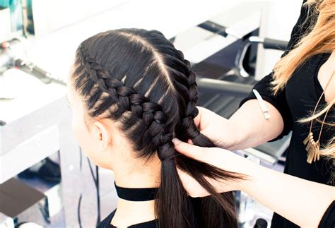 The Boxer Braid (aka Double French Braid) A Howto Coveteur