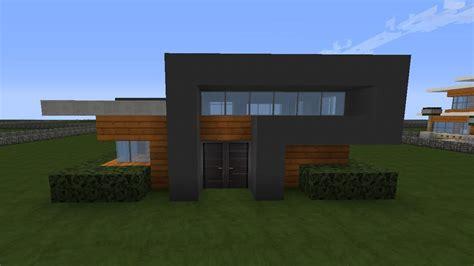 Minecraft Modernes Haus  Graubraun Bauen Tutorial