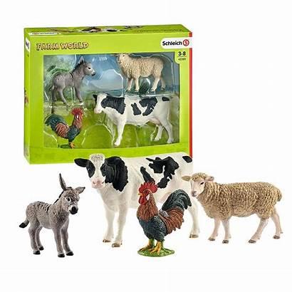 Schleich Farm Starter North Animals America Toys