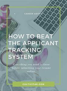 applicant tracking system what to know before submitting With how to pass applicant tracking systems