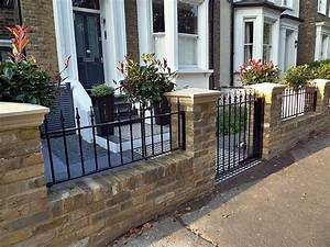 best 25 victorian fencing and gates ideas on pinterest With front garden brick wall designs