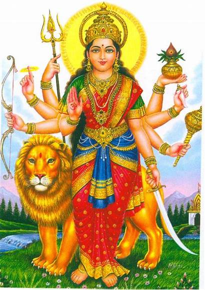 Hindu God Durga Maa Goddess Shiva Durgamba