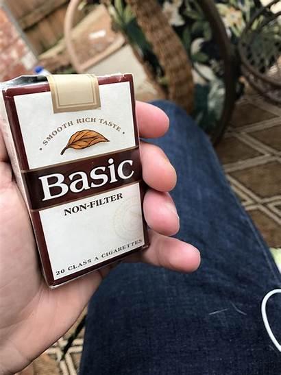 Basic Filter Non Actually Cigarettes Smoke Really