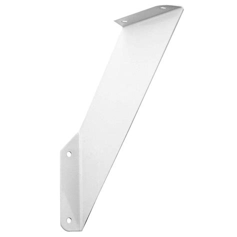 home depot shelf brackets everbilt 7 25 in x 7 25 in white shelf