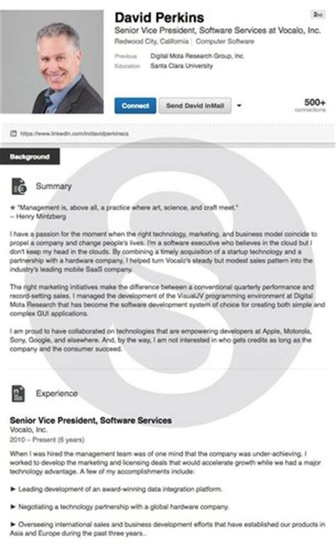 View Resumes On Linkedin by Resume Exles Cover Letter Exles Linkedin Profiles