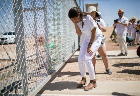 aoc slammed  staging photo shoot  migrant