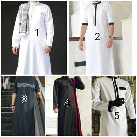 baju muslim laki laki elzatta jual gamis blackhairstylecuts