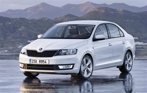 All New 2018 Skoda Rapid Sedan Pictures And Details W