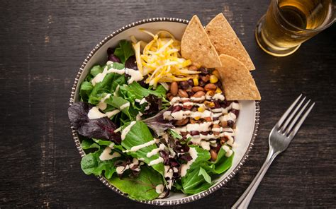 what to make a vegetarian for dinner vegetarian taco salad 30 minutes or less recipes pictures chowhound