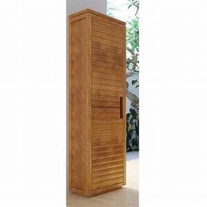 Colonne D Angle Salle De Bain : colonne de salle de bain teck solo 2 portes ~ Teatrodelosmanantiales.com Idées de Décoration