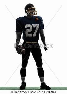 Stock Photo of quarterback american football player man ...
