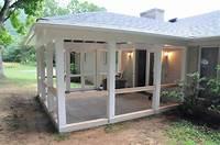 build a porch screen porch construction | Andrew Watkins Custom Homebuilding Inc.