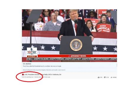 Trump Has 258,000 Watching His Rally on RSBN -- Or 258 ...