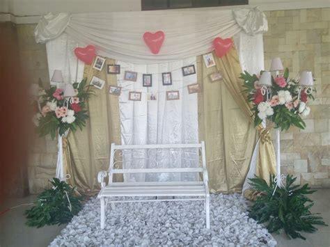 dekor photo booth pernikahan