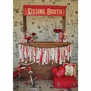Kissing Booth Photo Backdrop – PepperLu