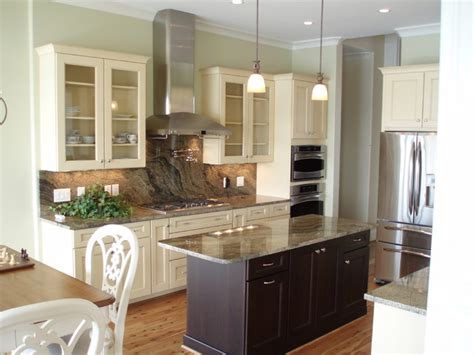mirrored kitchen cabinets contrasting cabinets 4161