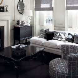 black livingroom furniture 21 black and white traditional living rooms digsdigs