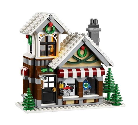 lego  winter toy shop  brick city