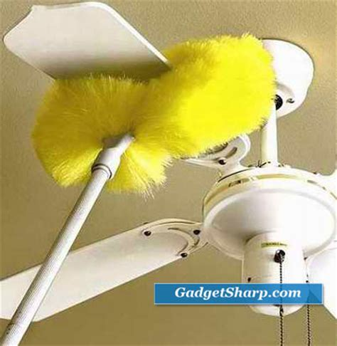 ceiling fan dust repellent 14 useful duster help to clean your home gadget sharp