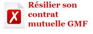 mutuelle gmf résiliation de contrat mutuelle santé