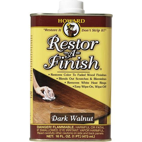 Howard 16 oz. Dark Walnut Wood Finish Restorer RF6016