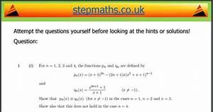 University Mathematics Preparation