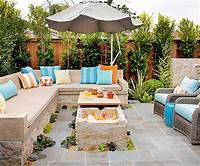 inspiring creative patio design ideas La transfornación moderna de un pequeño patio