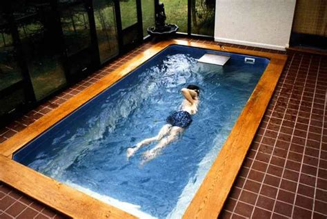 Counter Current Swimming Pool  Swimming Treadmill Teambhp