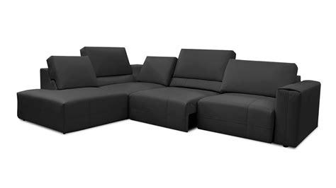 canapé d angle avec relax canape d angle relax xl en tissu avec dossier réglable