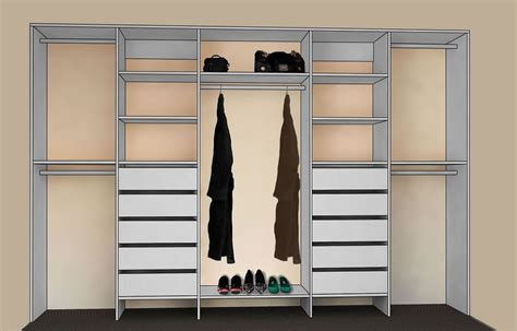 Wardrobe Organiser by Practical Elegance Wardrobes Direct