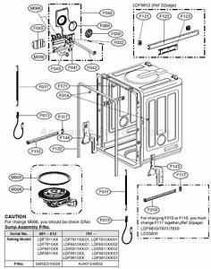 Parts For Ldf6810bb